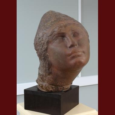 Head of  Mordovian Woman